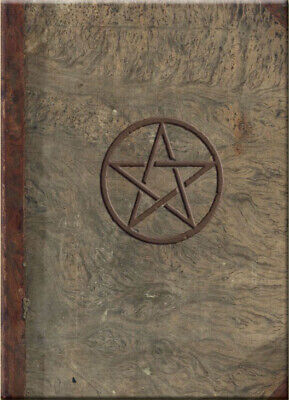 MAGICAL JOURNAL Blank Diary Book of Shadows Occult Fantasy Art Wicca Pentagram Magic Fairy Journal