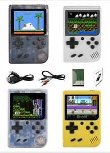 "New 8 Bit 168 Game Hand Held 3"" Screen Gaming Console w/ TV Play"