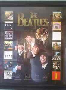 For Sale -Beatles Framed Picture  Peterborough Peterborough Area image 1
