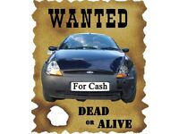 Wanted cars and vans