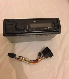 JVC KD-X200 Mech-Less Media Reciever with Front USB/AUX Input