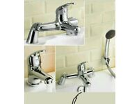 Brand new Modern Basin and Bath Filler Taps