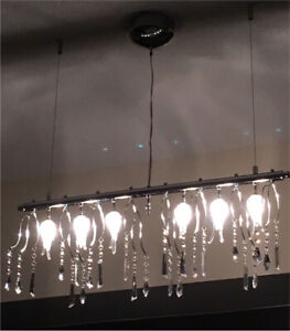 Beautiful Crystals Ceiling chandelier