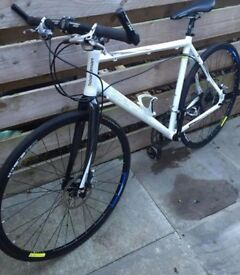Boardman pro hybrid bike