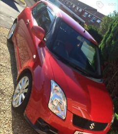 Red Suzuki Swift Sport 1.6 VVT