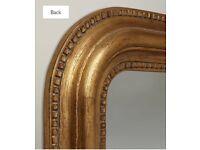 Large beautiful John Lewis gold mirror