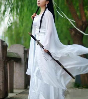 Fairy Clothing Ancient Chinese Ladie Slim Hanfu Dance Dress Costume Cosplay Tang](Fairies Dance Clothing)