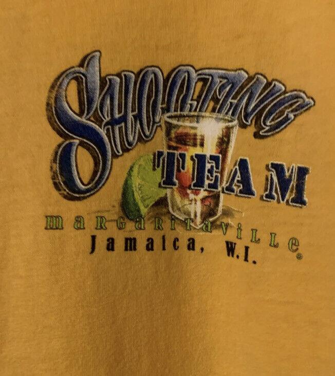 Jimmy Buffett Margaritaville T-Shirt Jamaica Shooting Team