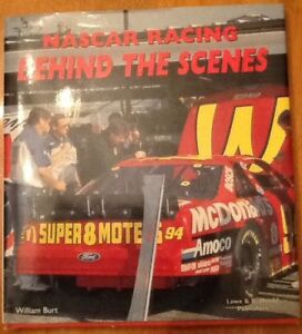 RACING BOOKS, MAGS,  $10 or 2/$15NASCAR RACING BEHIND THE SCENE