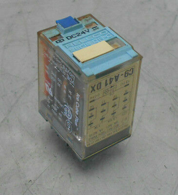 Releco Qr-c Relay C9-a41 Dx 24 Vdc Used Warranty