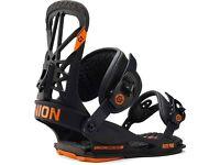 New Union Flite Pro Snowboard Bindings. Brand New in Box