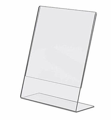 Flat-rate-shipping 12 Clear Acrylic Sign Holder Display Photo Or Picture Frames