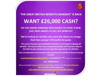 The Great British Benefits Handout – Looking for families to take part in TV series
