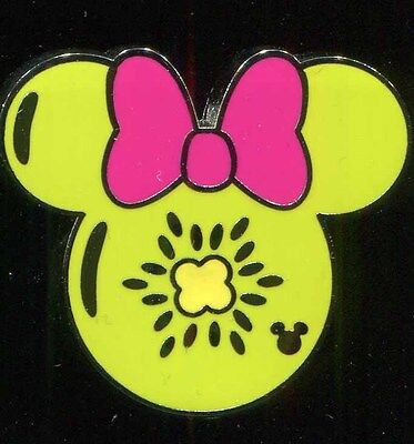 DLR 2017 Hidden Mickey Minnie Fruit Icons Kiwi Fruit Disney Pin 119766