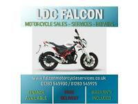 SINNIS RSX 125cc, SPORTS TOURER, WHITE & RED - APPROVED DEALER