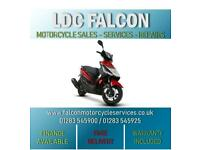 SINNIS HERO 125cc, SCOOTER, MOPED, RED & BLACK, APPROVED DEALER