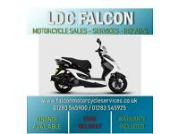 SINNIS HERO 125cc, SCOOTER, MOPED, WHITE & BLACK APPROVED DEALER