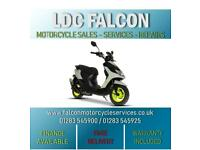 SINNIS JET 2 49cc MOPED NEON APPROVED DEALER