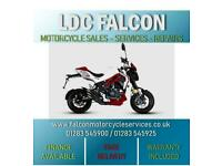 SINNIS AKUMA 125cc WHITE MOTORCYCLE LEARNER LEGAL CLICK AND COLLECT