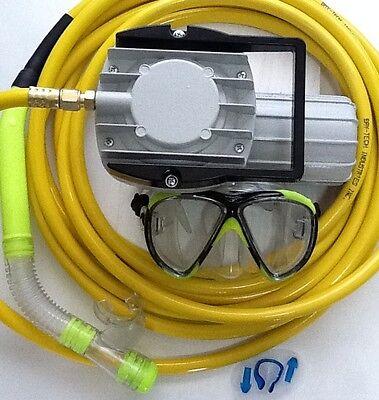No reserve 12v electric hookah diving complete kit boat - Hookah dive compressor ...
