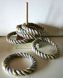 *NEW* Riversdale Garden Junior Quoits Rope Ring Toss Game - Australian Made