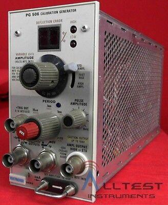 Tektronix Pg506 Calibration Generator For Scopes