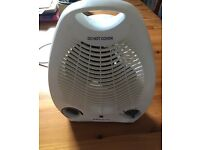 Pro elec free standing heater & Fan, 2000w (with anti tip function)