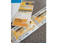 2 Golden Weekend Creamfields Tickets