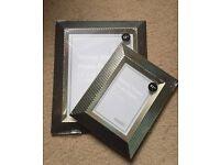 2 brand new Dunelm Photo Frames