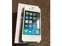 Iphone 4s 16gb white like new boxed with all accessories