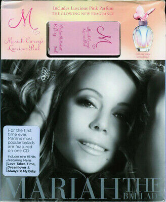 Mariah Carey The Ballads Limited Edition US Target Store CD Album & Perfume (Us Target Stores)