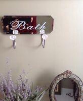 Mirror hook rack