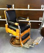 Vintage Antique Barber Chair