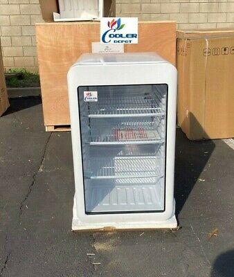 New Counter Top Refrigerator Cooler Bar Back Display Beverage Merchandiser