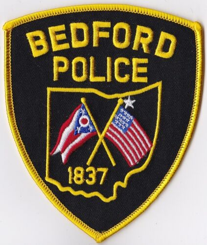 Bedford Police Patch Ohio OH NEW!!