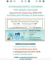 Affordable Dental Cleaning! Adults & Kids! North York