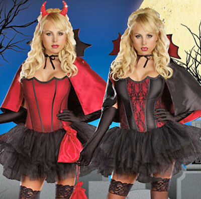 ADULT HALLOWEEN COSTUME SMALL DEVILS NIGHT WITH A BITE VAMPIRE HORNS - A Vampire Halloween