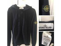 Men's Stone Island Zip Hoodie L