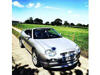 MG Convertible 1.8 - low mileage - year MOT - perfect runner