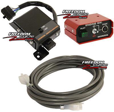 Honda Em5000 Em3500 Sx K1 Home Power Generator Remote Start Starter Switch Kit