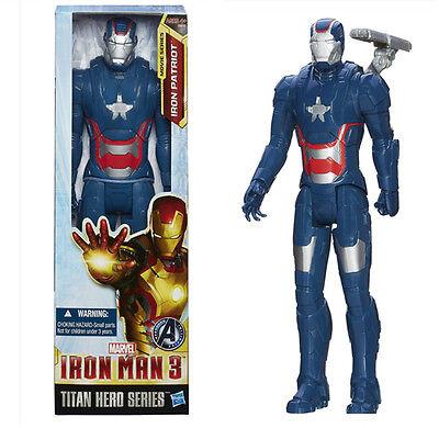 "12"" IRON MAN PATRIOT Figur Titan Held Marvel Sammlerstück Kid Spielzeug"