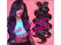 CRAZY SALE 50% OFF Brazilian/Peruvian/Malaysian Virgin remy hair/weave-we deliver direct2u sameday
