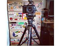 Velbon dv7000 camera tripod (canon Nikon pentax Sony)