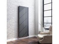 Vertical double radiator - anthrocite grey, 1600mm x 608mm