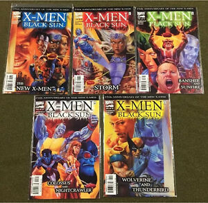 XMEN BLACK SUN #1-5, MARVEL COMICS