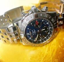 BREITLING CHRONOMAT 44 GMT  BLUE DIAL WITH BLACK SUB DIALS Sydney City Inner Sydney Preview