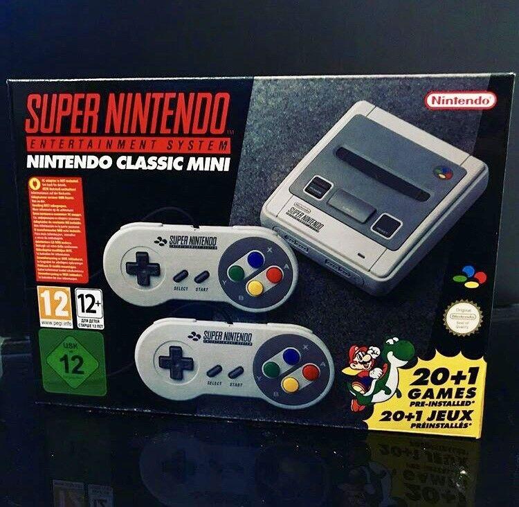 Super Nintendo SNES CLASSIC MINI * Brand New / Sealed