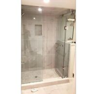 Shower glass  and Mirror/Install