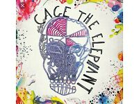Cage The Elephant - O2 ABC - Jan 17th - 2 Tickets