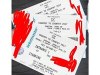 Country to Country Ticket